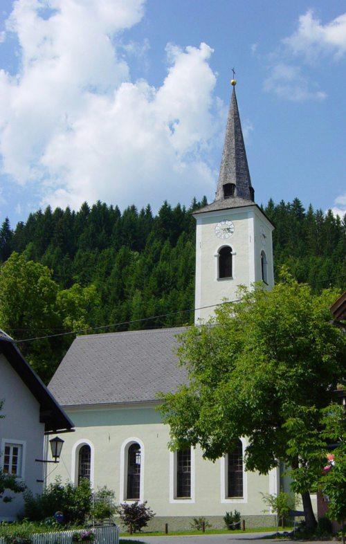 Filialkirche St. Nikolaus in Dellach/Gailtal (© Foto: Pfarre St. Daniel im Gailtal)