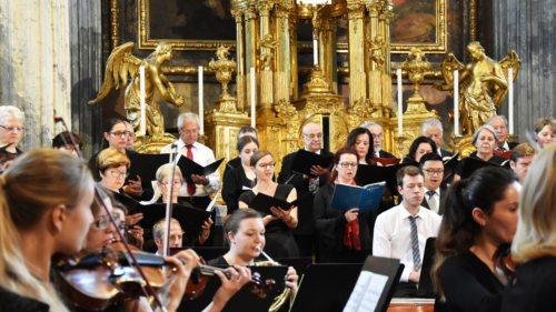 Festmesse beim Festival Musica Sacra im Dom zu Klagenfurt (Archivfoto: KH Kronawetter)