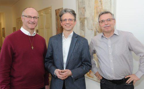 Janko Krištof, Tonč Rosenzopf-Jank in Andrej Lampichler (foto: Gotthardt/Nedelja)
