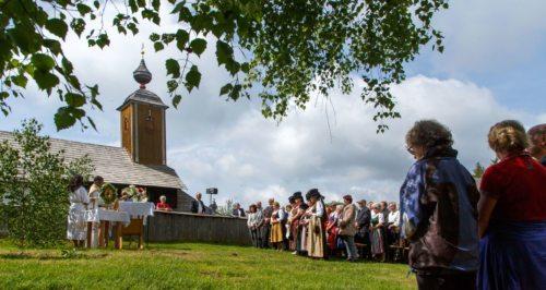 Festmesse Dreifaltigkeit am Gray Foto: Anton Wieser