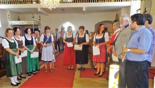 Bartholomäuskirchtag 2017 in Bach- Potoče (Foto: Pfarrarchiv Neuhaus- Suha)