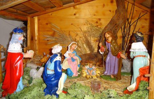 Weihnachtskrippe in der Pfarrkirche St. Paul an der Gail. (Foto: Angela Moritsch).