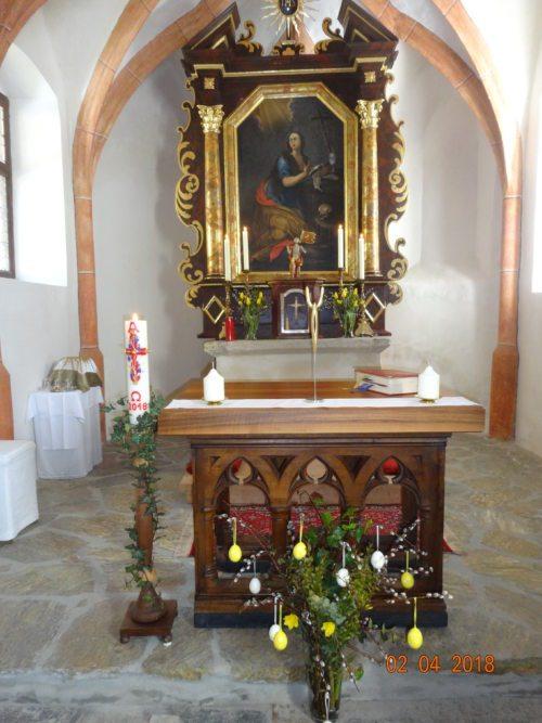 Eucharistiefeier (© Foto: Rosemarie Spök)