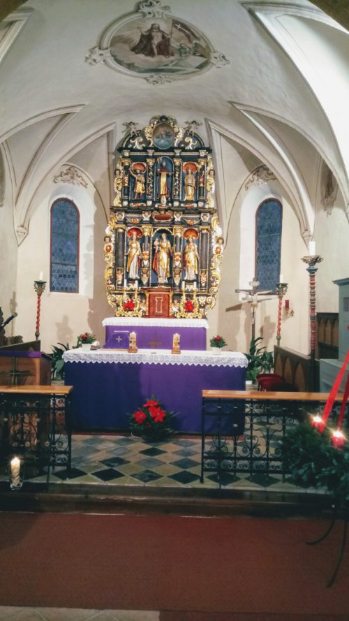 Altar (© Foto: Pfarrer )