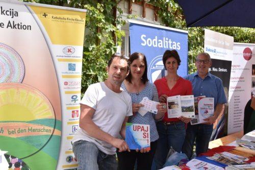 Tudi slovenske ustanove so se predstavile na Prazniku učenja (Foto: Nedelja)