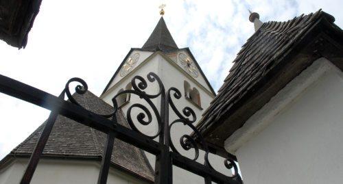 Pfarrkirche Ludmannsdorf / Farna cerkev Bilčovs (© Foto: Reichmann )