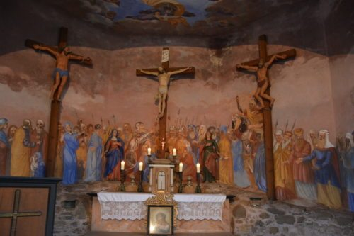Kirche Afritz, Kreuzweg (Karin Farkas)