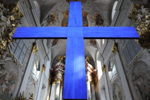 Postna inštalacija v celovški stolnici (Gotthardt)