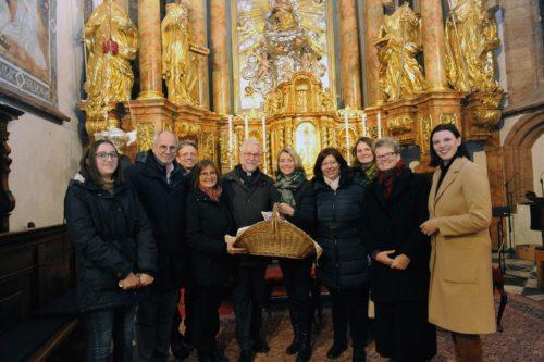 Molitev za škofa v Gospe Sveti (Gotthardt)