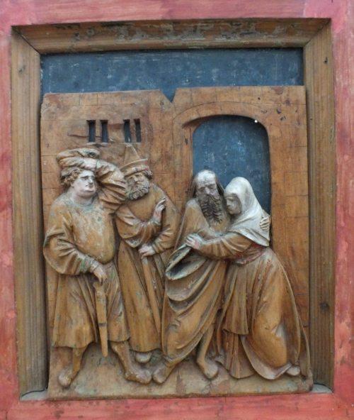Ausschnitt aus Baierberger Altar, um 1525 (© Foto: Stift Gurk)