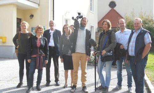 Filmteam in Pölling (c) Wornik