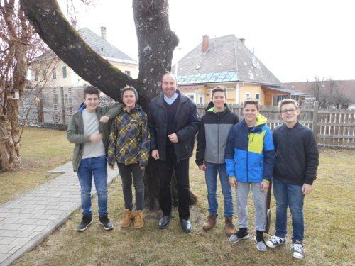 Unsere Boygroup (© Foto: Elmar Augustin)