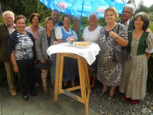 Unsere Stammgäste vom Pfarrkaffee (© Foto: Mühleisen)