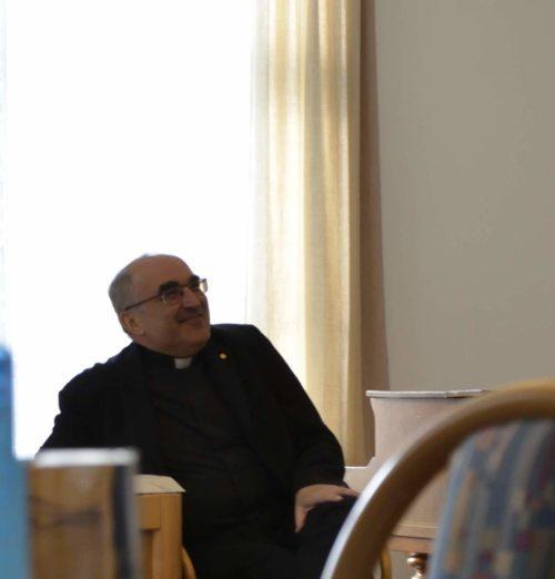 Einkehrtag mit Diözesanbischof Dr. Wilhelm Krautwaschl (Priesterseminar / Piotr Karaś)