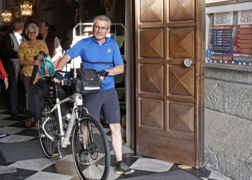 Gabriel Stabentheiner macht sich auf den Weg nach Rom (Foto: Eggenberger)