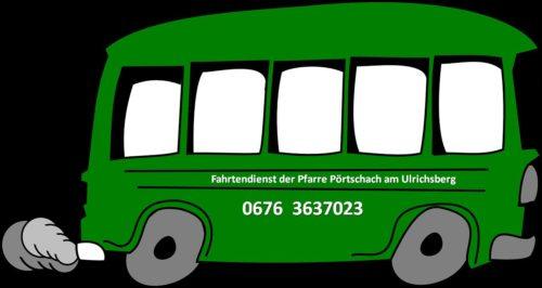 Jetzt neu: Fahrtendienst der Pfarre Pörtschach am Ulrichsberg (© Foto: pixabay)