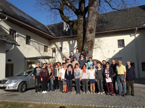 Sängerinnen und Sänger vom FeldKirchenchor nach der Aufnahme am 31. März 2017 (© Foto: KIMU-Klagenfurt-ch.m.)