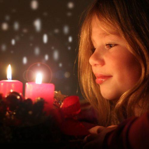 """Der Adventkranz, Symbol für Christus als """"Licht der Welt"""" (Foto: Pressestelle)"""