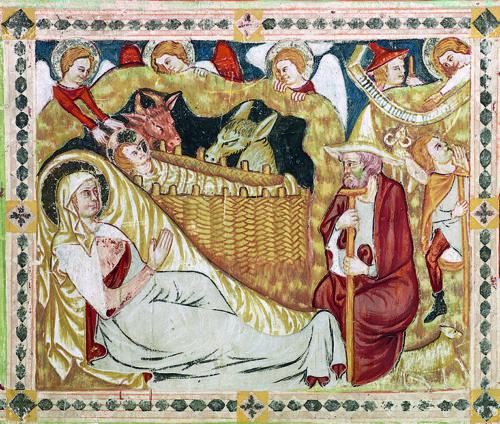 Geburt Christi (1310) Dom zu Gurk Foto: Marcel Peda