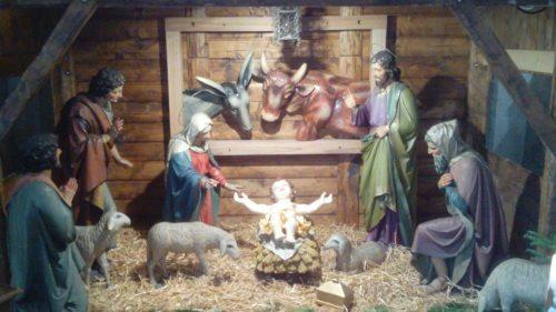 Weihnachtskrippe im Dom zu Gurk (© Foto: FK)
