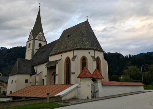 Unsere Pfarrkirche (© Foto: Mag. Dr. Christiana Potocnik)