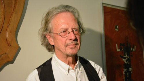 Peter Handke in Griffen (Foto: Vincenc Gotthardt)