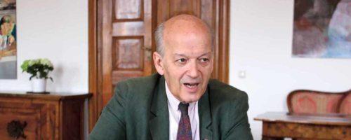 """Thomas Heine-Geldern, Welt-Präsident von """"Kirche in Not"""" (@Kirche Bunt)"""