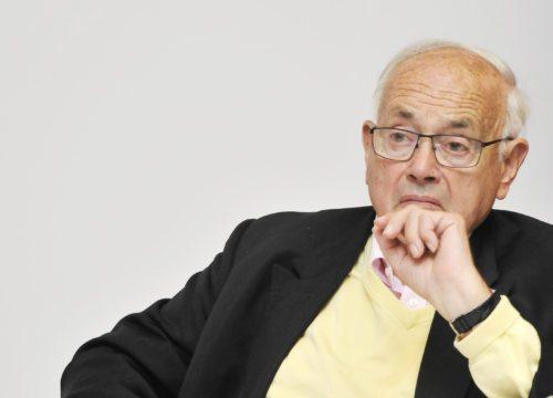 Heinrich Neisser bo prejel Einspielerjevo nagrado. (Nedelja)