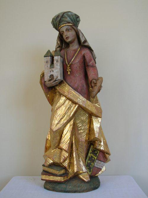 Hl. Hemma in der Klosterkapelle (© Foto: Stift St. Georgen)