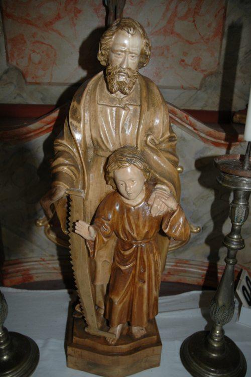 Hl. Josef in der Filialkirche Ebenfeld (© Foto: Foto: fotogard)