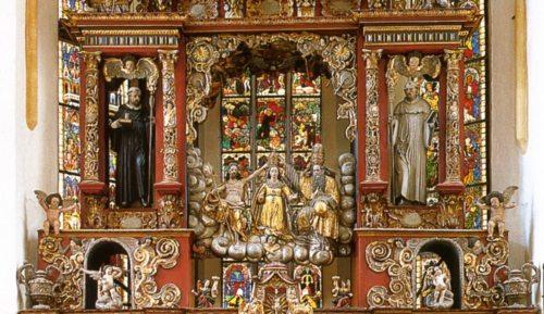 Darstellung Mariä Aufnahme in den Himmel - Ausschnitt aus dem Viktringer Hochaltar
