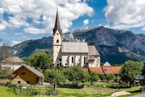Pfarrkirche Göriach/Gorje - Mariä Namen (© Foto: privat)