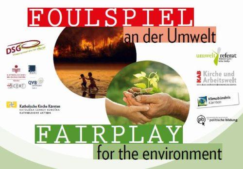 Foulspiel an der Umwelt - Fairplay for the environment
