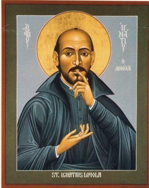 Ignatius von Loyola (gemalt im Stil einer Ikone) (© Foto: SJ)