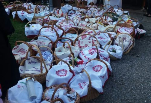 Karsamstag -Speisensegnung- Weihkörbe UHO