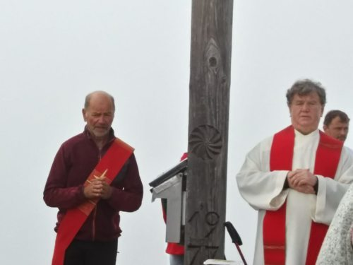 Diakon Peter Granig und P. Franz Medryk (Hans Linder)