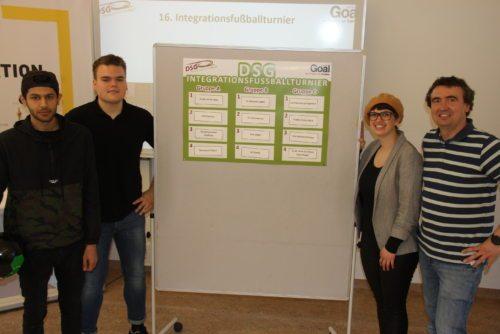 Das Organisationsteam der DSG Kärnten mit Martina Erlacher, welche die Auslosung beaufsichtigte (© Praster/DSG Kärnten)