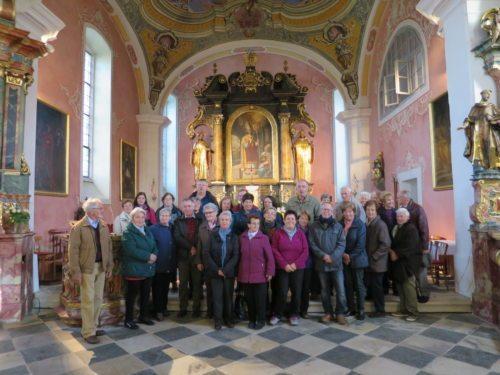 skupinska slika v Kapli - Gruppenfoto in Kappel (© Foto: slike: mš)