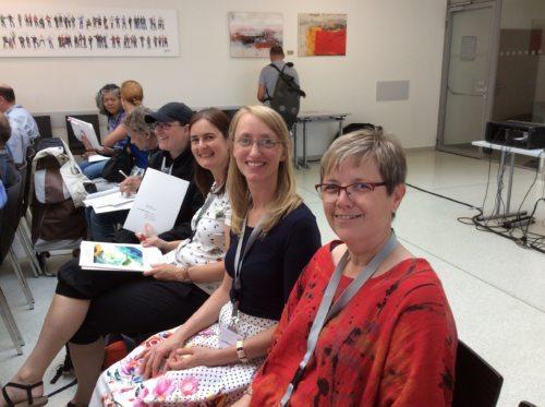 Die Mitarbeiterinnen des Referates für Mission und Entwicklungszusammenarbeit und der Slowenischen Missionskanzlei (Brigitta Höfferer)