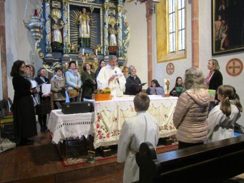 Hauptaltar der Wallfahrtskirche St. Leonhard an der Saualm (c) Wornik