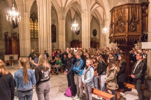 Wortgottesdienst als Abschluss der SpiriNight im Stift Admont (Foto: Peter Artl)