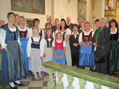 Kirchenchor Stall (© Foto: Sigrid Mößlacher)
