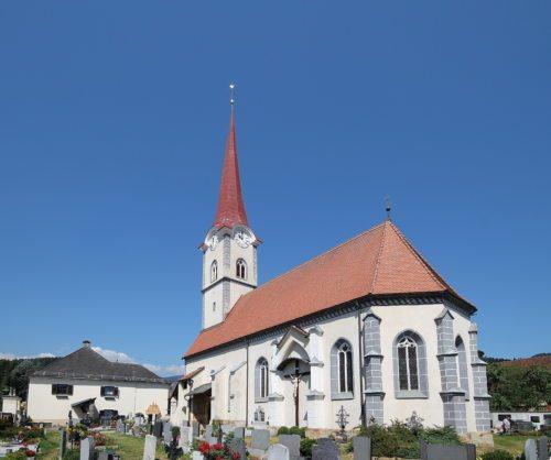 Der ORF überträgt österreichweit die hl. Messe aus der Pfarrkirche St. Margarethen bei Wolfsberg.  (© Foto: Pressestelle)