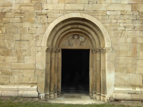 Das Südportal des Gurker Doms wurde zur Pforte der Barmherzigkeit (© Foto: Mag. Ilse Aiglsperger)