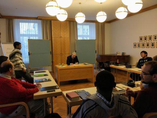 Einkehrtag mit Spiritual P. Thomas Neulinger (Priesterseminar / Piotr Karaś)
