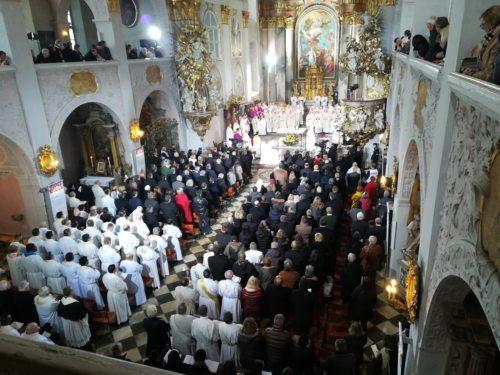 Bischofsweihe von Msgr. Dr. Josef Marketz am 02.02.2020 im Klagenfurter Dom (Foto: Pfarrarchiv Neuhaus-Suha)