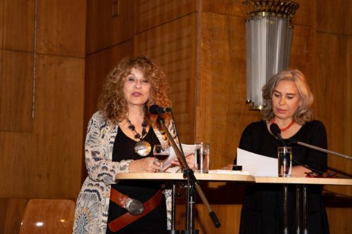 Gioconda Belli und Brigitte Karner (li.) - ©Foto: Lisa Engel