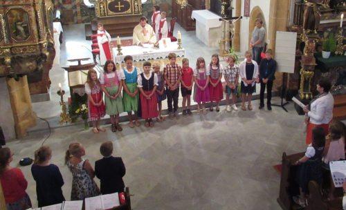 Bild zum Eintrag 'Volksschule St. Stefan im Gailtal – Gottesdienst zum Schulschluss'
