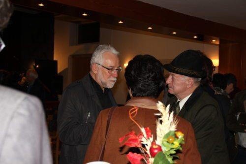 Caritasdirektor Marketz im Gespräch in Eisenkappel / ravnatelj Caritas v pogovoru v Železni Kapli (Foto Caritas)