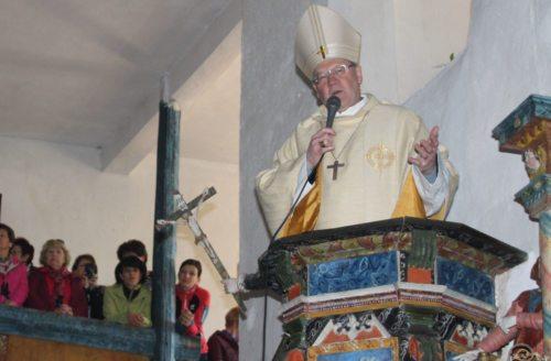 Bischof Dr. Alois Schwarz bei der Predigt (© Foto: Leni Bartolot)